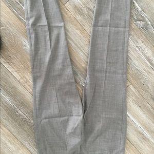 Grey suit pants
